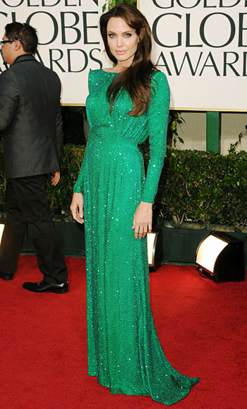 Angelina Jolie, Golden Globes 2011