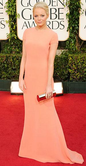 Golden Globes 2011 - Emma Stone - Calvin Klein
