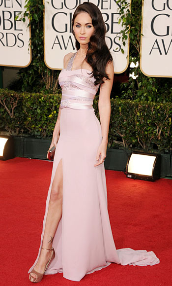 Golden Globes - Megan Fox - Giorgio Armani