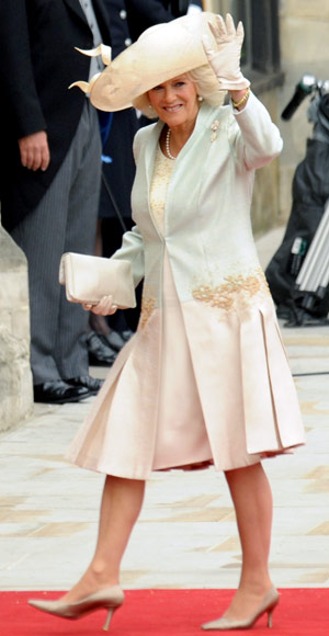 Camilla Parker Bowles - Royal Wedding Coverage