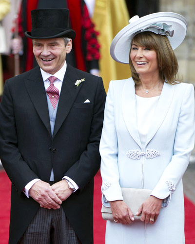 Kate Middleton's Parents - Royal Wedding Coverage
