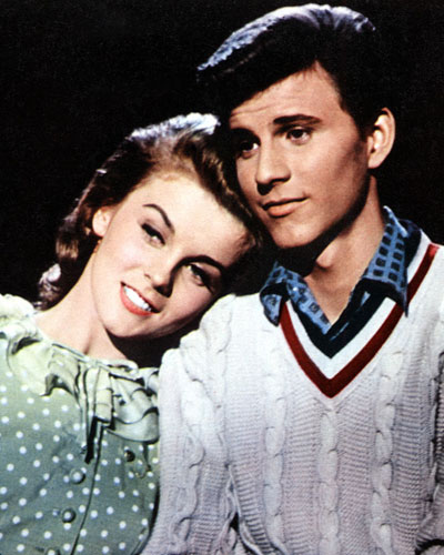 Image result for bye bye birdie 1963 kim and hugo pin