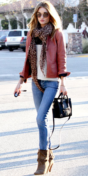Rosie Huntington-Whiteley in MiH Jeans