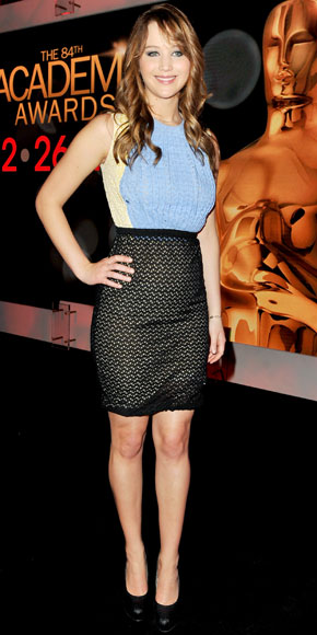 Jennifer Lawrence in Prada