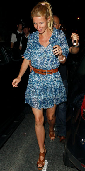 Gwyneth Paltrow wearing Isabel Marant