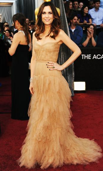 Kristen Wiig - J. Mendel - Oscars 2012