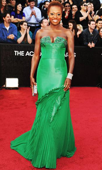Viola Davis - Vera Wang - Oscars 2012
