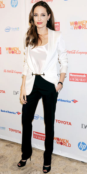 Angelina Jolie in Gucci