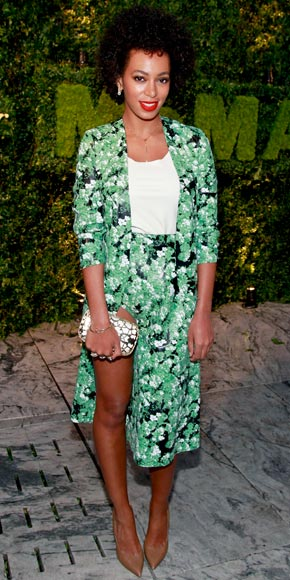 Solange Knowles in Cartier