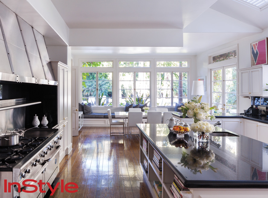 The Kitchen  Look Inside Rachel Zoes Chic Home  InStylecom