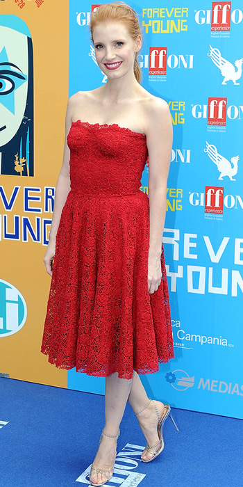 Look of the Day photo   Jessica Chastain