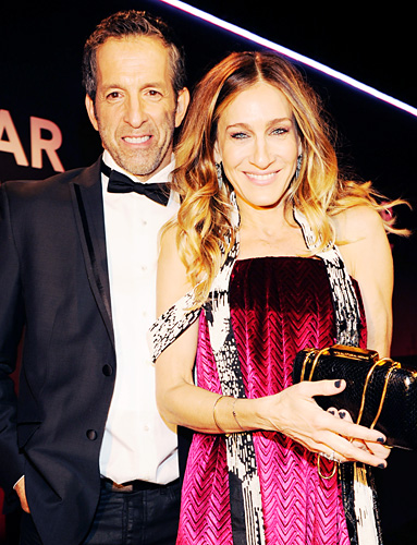 YesWeTrend- Keneth Cole and Sarah Jessica Parker (M.Martin Margiela) Fashion Week Parties 2013