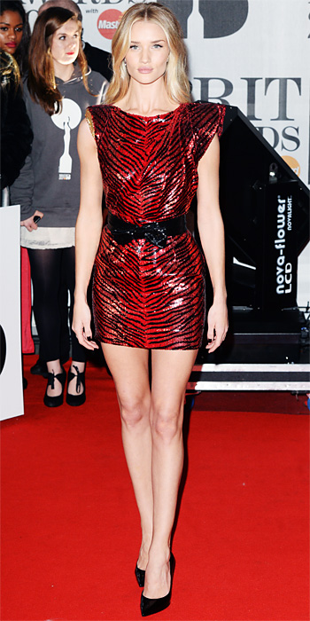 Look of the Day photo | Rosie Huntington-Whiteley
