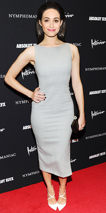 Look of the Day photo | Emmy Rossum