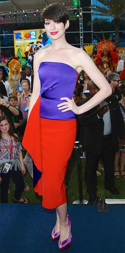 Anne Hathaway in Roksanda Ilincic