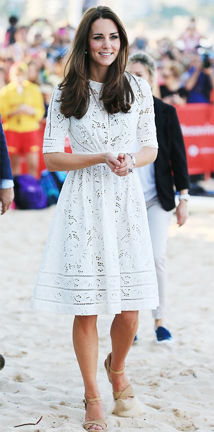 Kate Middleton in Zimmermann