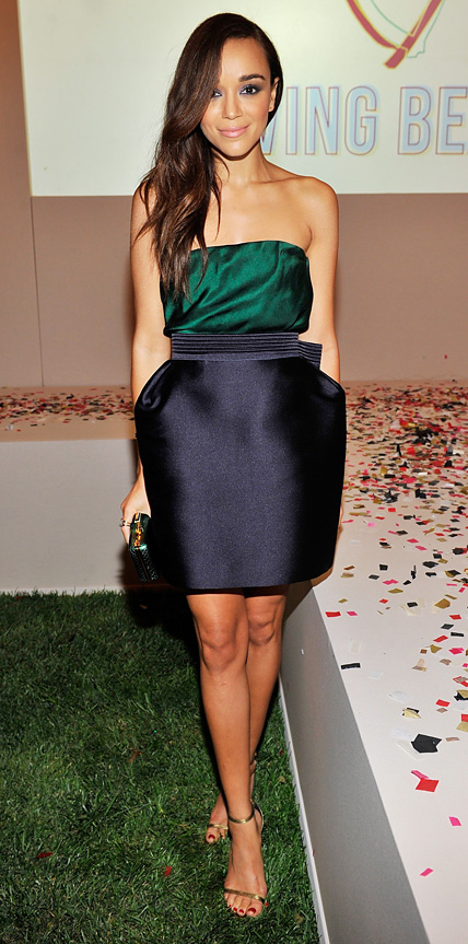 Ashley Madekwe in Lanvin