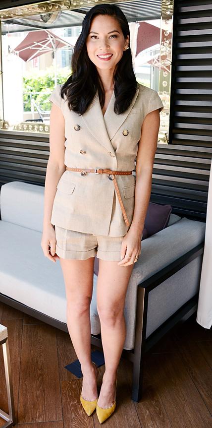 Olivia Munn in Michael Kors