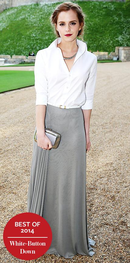 Emma Watson in Ralph Lauren Collection