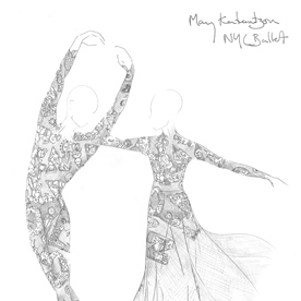 Mary Katrantzou Designs Costumes for the N.Y.C. Ballet