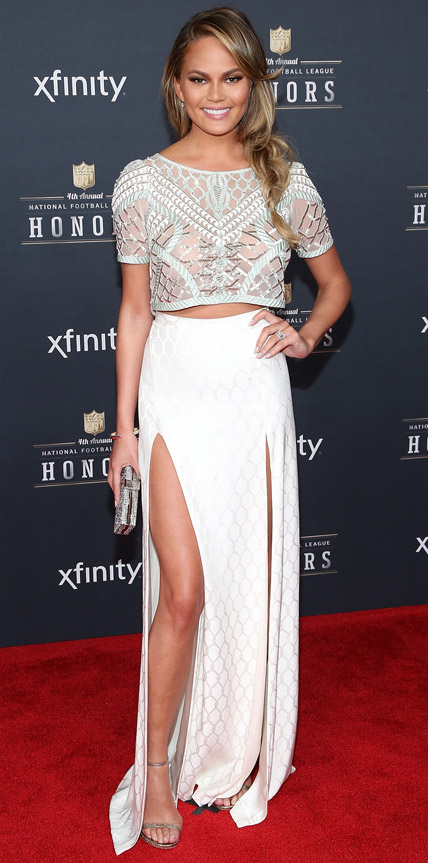 Chrissy Teigen in Temperley London