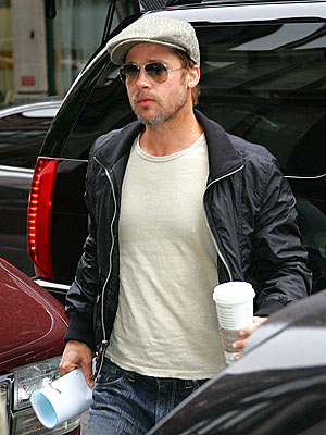 BOOKED SOLID photo | Brad Pitt