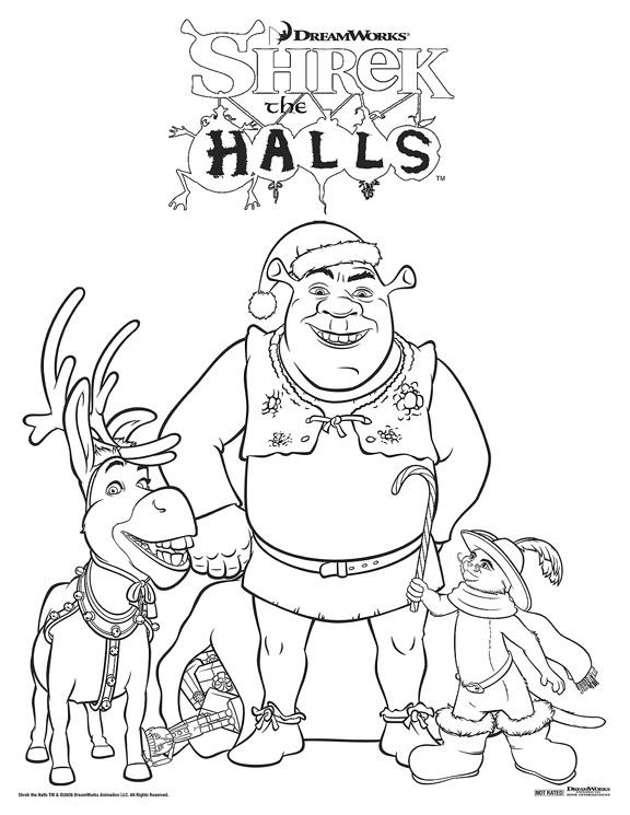 Shrek the Halls Now On DVD – Moms & Babies