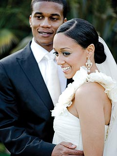Tia Mowry's Wedding Photo | Cory Hardrict, Tia Mowry