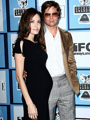 Sexy Angelina Jolie is confirming reports that she is pregnant after showing