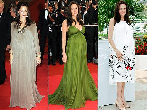 Entertainment Weekly Cover Photos Angelina Jolie green dress – Bitten