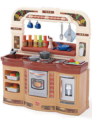 Step 2 LifeStyle Gourmet Caf Kitchen For Multiple Cooks