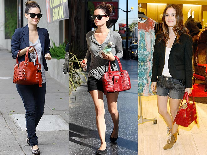 JIMMY CHOO PURSE  photo | Rachel Bilson