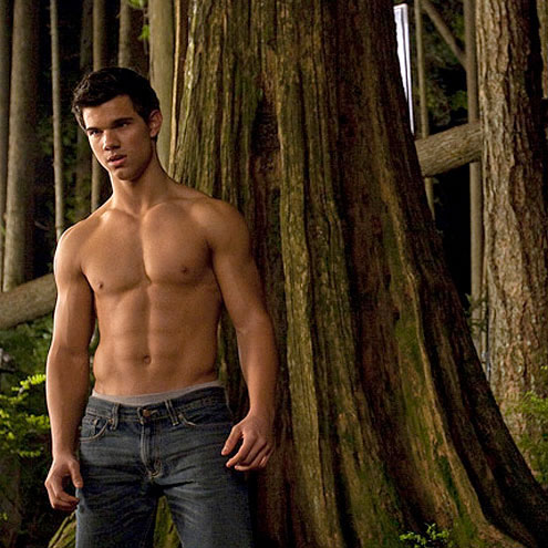 4. HE'S ABS-OLUTELY RIPPED photo   Taylor Lautner
