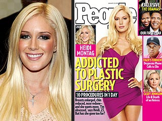 Heidi Montag: Addicted to Plastic Surgery   Heidi Montag