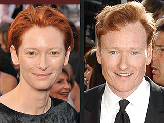 Tilda Swinton Up for Playing Conan O'Brien on Film
