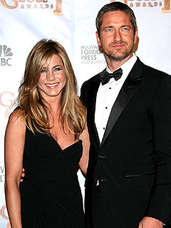 Jen Aniston Explains Her Affection for Gerard Butler