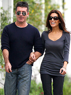 Blushing Simon Cowell (Sort of) Confirms He's Engaged
