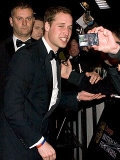 Brits Celebrate the BAFTAs | Prince William