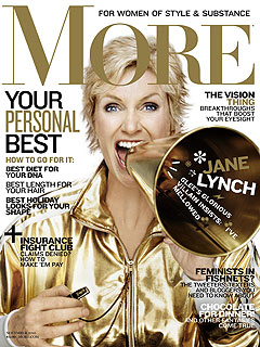 Glee's Jane Lynch Poses for More Racy Photos| Glee, Jane Lynch