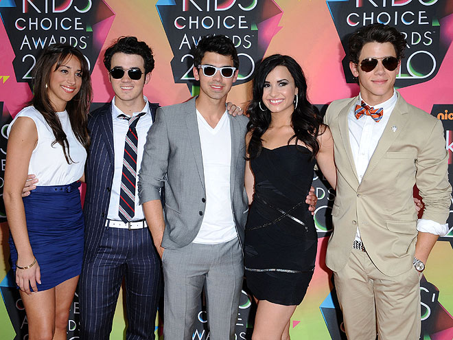 BAND OF BROTHERS photo | Demi Lovato, Joe Jonas, Jonas Brothers, Kevin Jonas, Nick Jonas