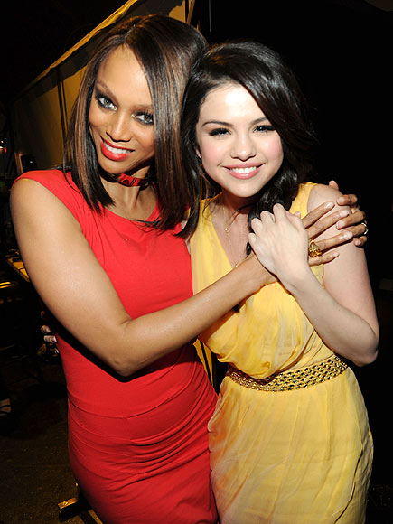 MODEL BEHAVIOR photo | Selena Gomez, Tyra Banks