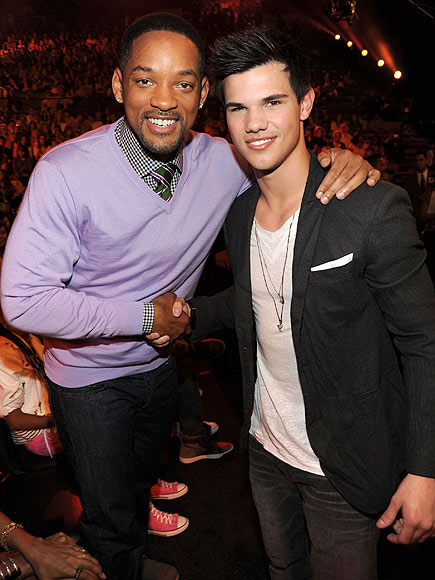MAN OF THE HOUR photo | Taylor Lautner, Will Smith