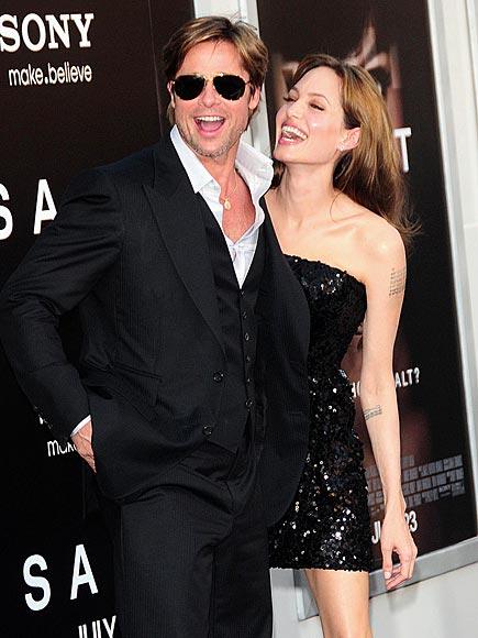A Pinch of Glamour photo | Angelina Jolie, Brad Pitt