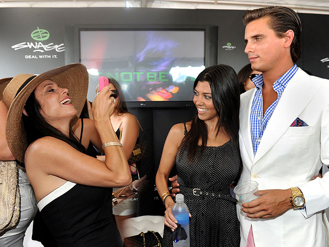 Picture Perfect Polo photo | Bethenny Frankel, Kourtney Kardashian, Scott Disick