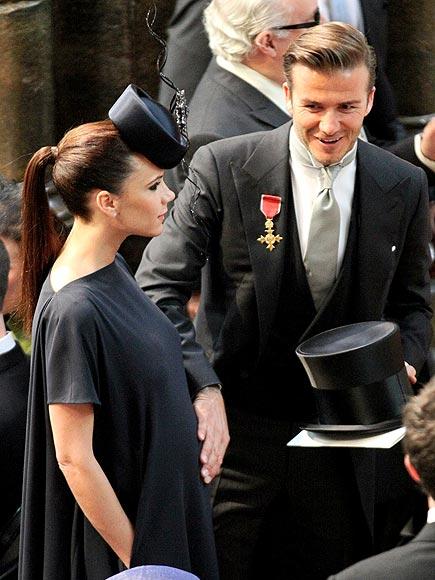 BUMP FOR JOY! photo | Royal Wedding, David Beckham, Victoria Beckham