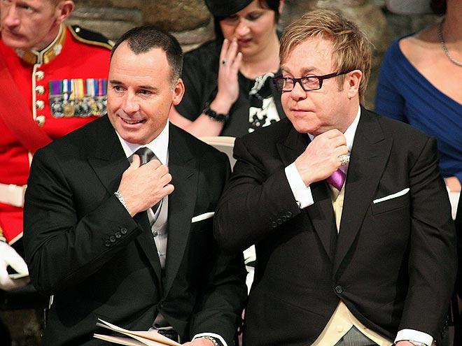 THE TIES THAT BIND    photo | Royal Wedding, David Furnish, Elton John