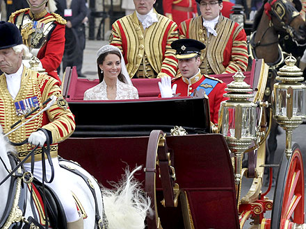 Inside William and Catherine's Fairy Tale Carriage Ride | Royal Wedding, Kate Middleton, Prince William
