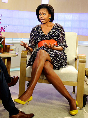 First Lady Michelle Obama Rocks $35 H&M Dress