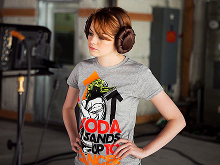 Emma Stone Stand Up To Cancer