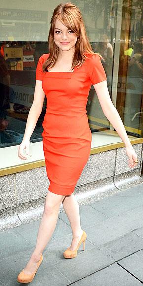 EMMA STONE'S DRESS photo | Emma Stone